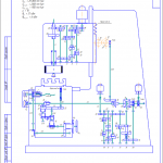 Кинематическая схема станка 6А54