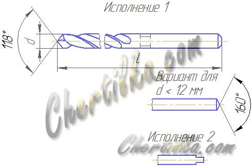 Сверло ГОСТ 886-77