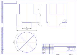 Инженерная графика Вар 4